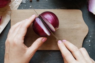Taste-Enhancing Proteins from Onion Residue