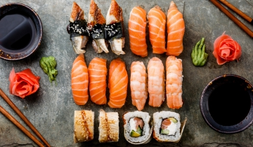 Halaal Fish & International Sushi Day
